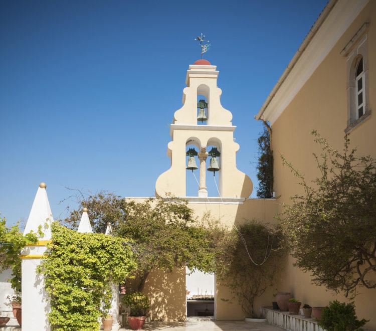 monastery paleokastritsa